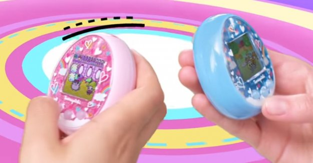 Yes, the Tamagotchi is back. With a color screen and bluetooth