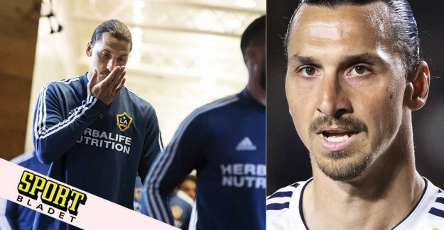 Zlatan is turned off after the attack
