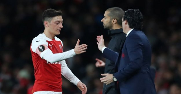 Özil and Mustafi have a good chance of the final