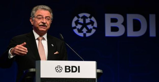 BDI-chief: government policy is causing harm to businesses