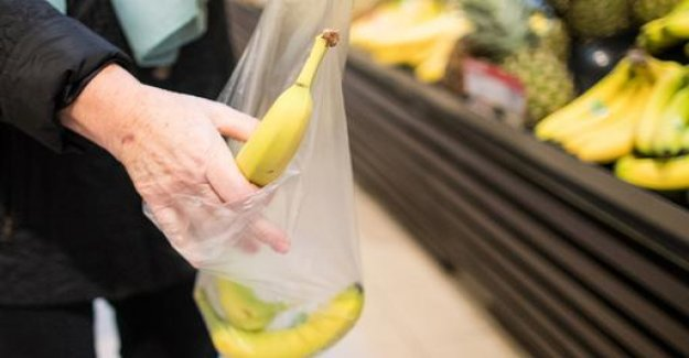 Consumption of thin plastic bags hardly falls