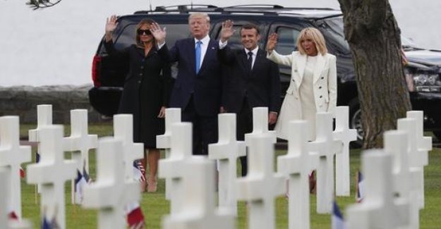 D-Day commemoration: Macron and Trump to summon Unity