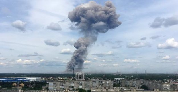 Injured in Explosion at Russian explosives factory