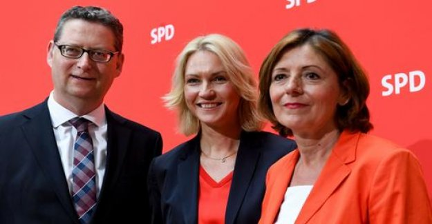 New SPD leadership: of These Three should fix it for the time being
