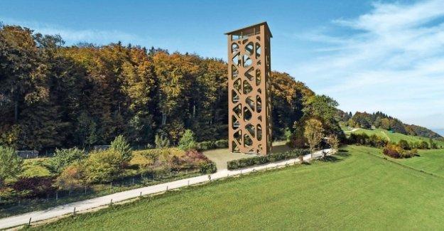 New lookout tower on the Mutschellen