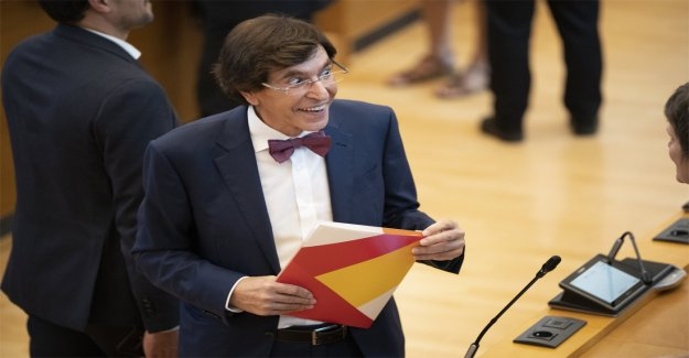 Elio Di Rupo will stop if the chairman of the PS