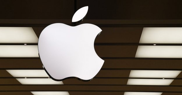 Apple's profit fell, but less than expected