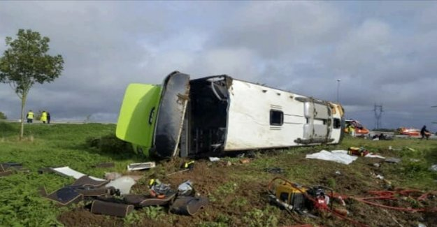 33 injured in Flixbus-accident in France