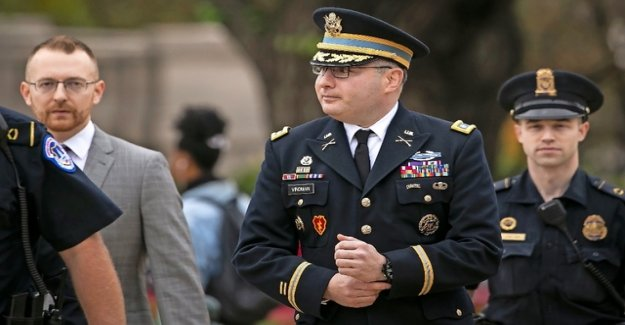 A highly decorated Colonel charged Lieutenant Donald Trump difficult