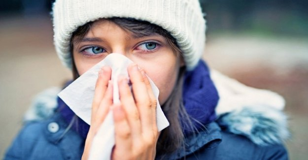 A strong Psyche helps against colds