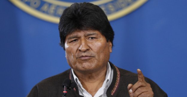 After protests by Bolivia's President new elections are announced