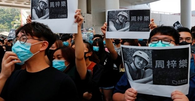 After the death of a student: a New wave of protest in Hong Kong