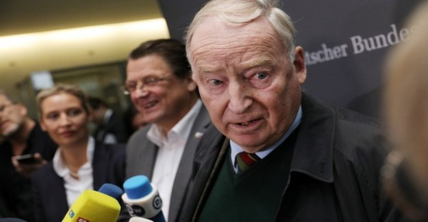 Alexander Gauland is for the AfD actually irreplaceable