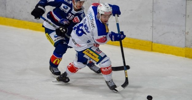 And again Kloten a goal against the GCK Lions
