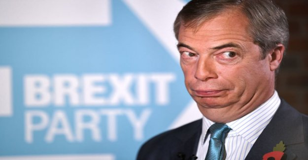 Brexit-the hawk Nigel Farage will not stand in upcoming elections, but intends to focus on Boris johnson's divorce settlement barking