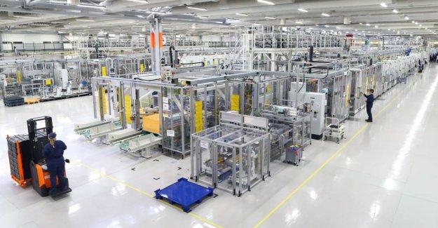 Car manufacturer Valmet Automotive started battery production in Salo