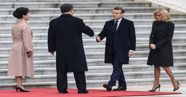 China and France agree on a 13.5 billion euro stores