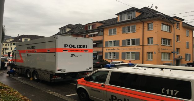 Dead man in the Hotel in Zurich-Albrisrieden found