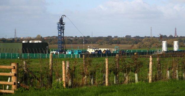 Earthquake-hazard: the UK has Fracking stop