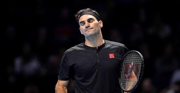 Federer is already in distress