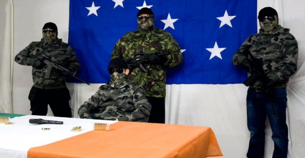 Finnish assault rifles ended up in Northern Ireland violence? Valmetit beams those is