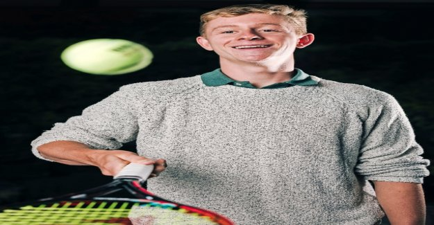 For the tennis career, he is boning up on online