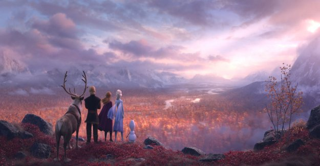 Frozen II, the film received a world premiere – the movie was retrieved successfully inspiration from northern nature and sámi culture