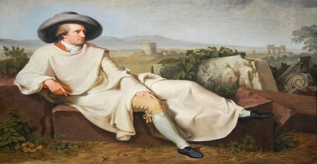 Goethe in Italy was too slow on the road?