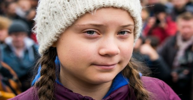 Greta Thunberg with children's peace prize awarded