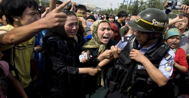 Hundreds of Uighur camp in China, discovered