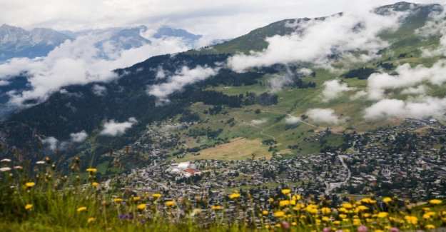 In Verbier, the earth has quaked
