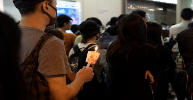 In hong kong was remembered Friday as a dead students – candle scuffed attended by thousands