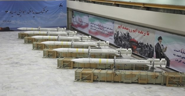 Iran's Arsenal, according to the United States, the largest in the Region