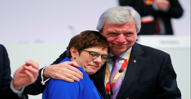 Kramp-Karrenbauer may try it even for a year