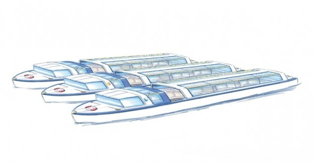 Limmat boats are soon under current