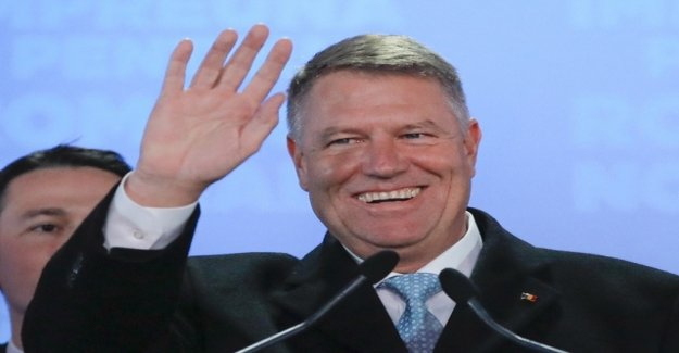 Locust-elected as Romanian President again