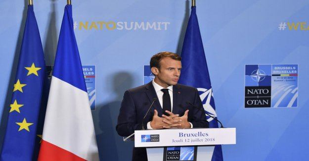 Macron certifies Nato, the brain death