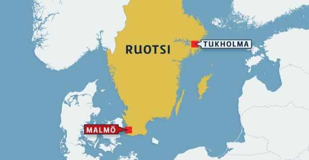 Malmö is happening in the two explosions