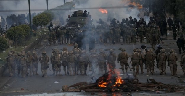 Number of dead in riots in Bolivia increases