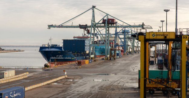 Postal strike operations in support extensive economic losses of export for the port – a freight train is not unloaded from the ship and you can stay to arrive
