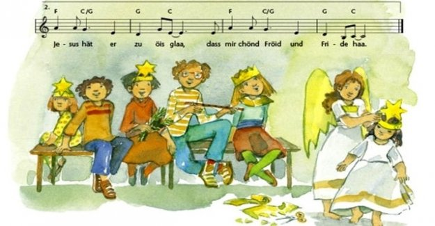 Primary school banned the songs of advent celebration