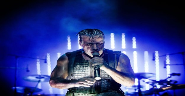 Rammstein's singer released so pornographic music video that had youtube's censorship of the teeth