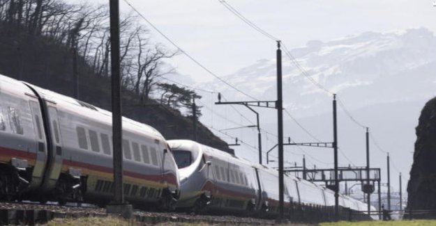 SBB delete the scheduled train to be on time
