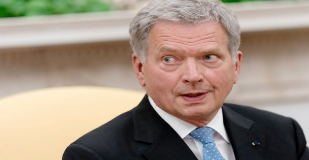 SSS: head of State Sauli Niinistö proposal on presidential power through the shortening of the present 3x4-year -model
