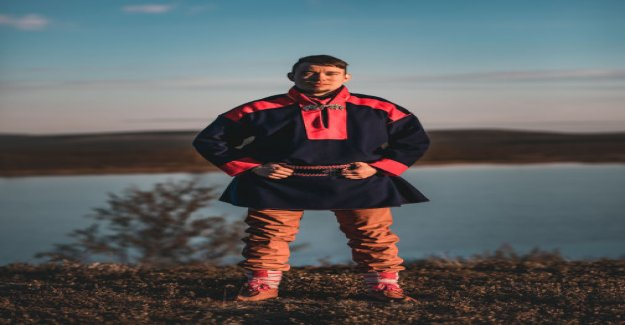 Sámi rapper Ailun valle for children's culture state award