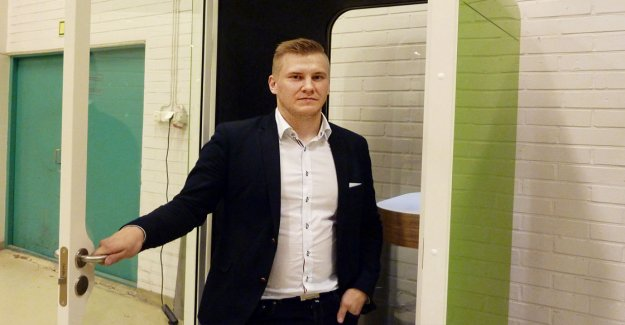 Samu Hällfors, 31, was annoyed by loud boss and got the idea – the company was close to go bankrupt, but it did, based on a rich