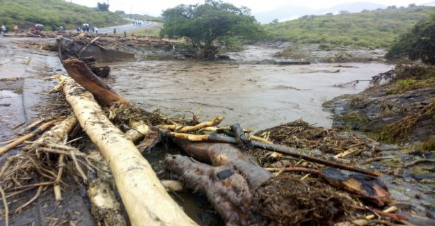 Ten dead in eastern Africa, the storms and flooding in