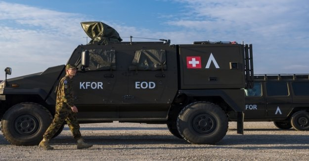 The Federal Council wants to send more Swisscoy soldiers in the Kosovo