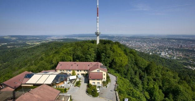 The Uetliberg, the people of Zurich