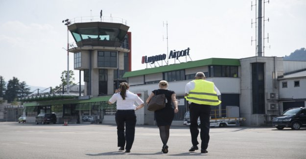 The airport of Lugano-Agno is saved for the time being